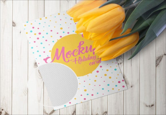 fabulous holiday card sample template download