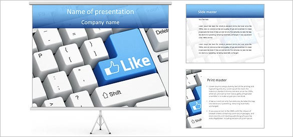 9+ facebook powerpoint templates – free samples, examples, format, Modern powerpoint
