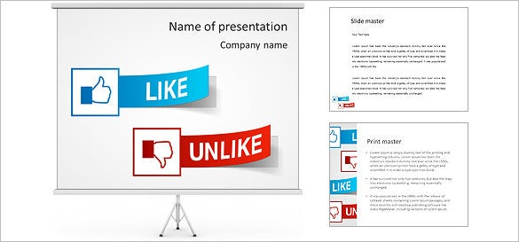 9 Facebook Powerpoint Templates Free Samples Examples Format