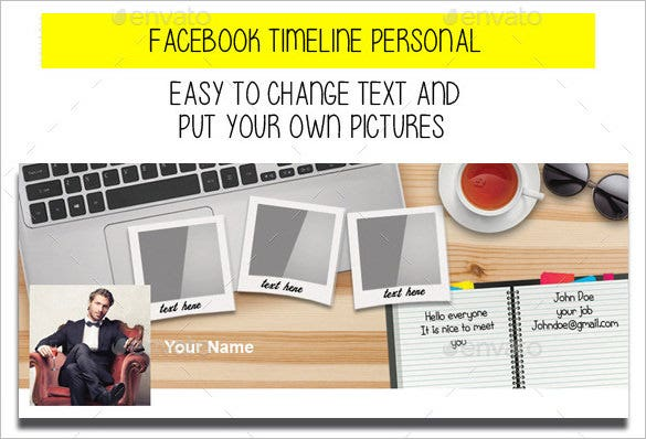 facebook timeline personal photoshop psd download 2