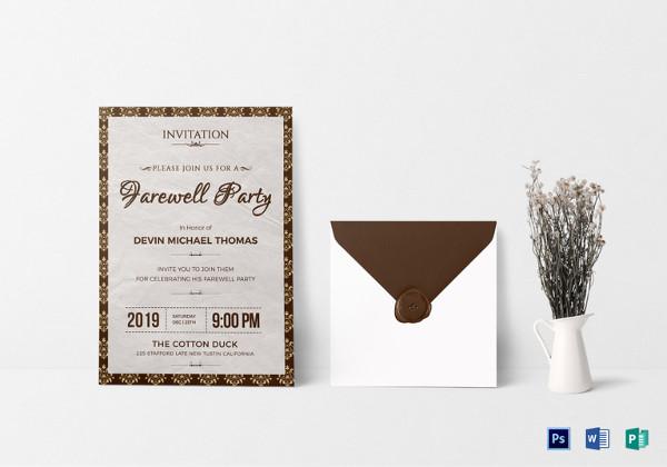 farewell-invitation-design-template