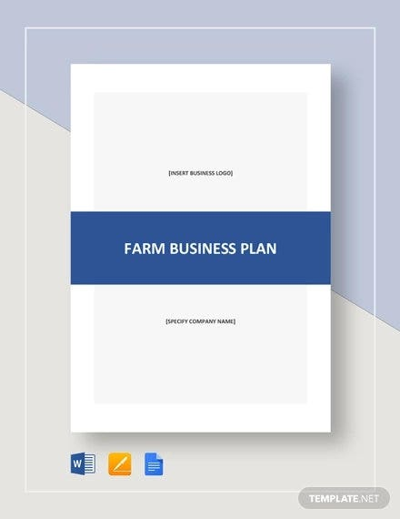 19+ Farm Business Plan Templates - Word, PDF, Excel, Google