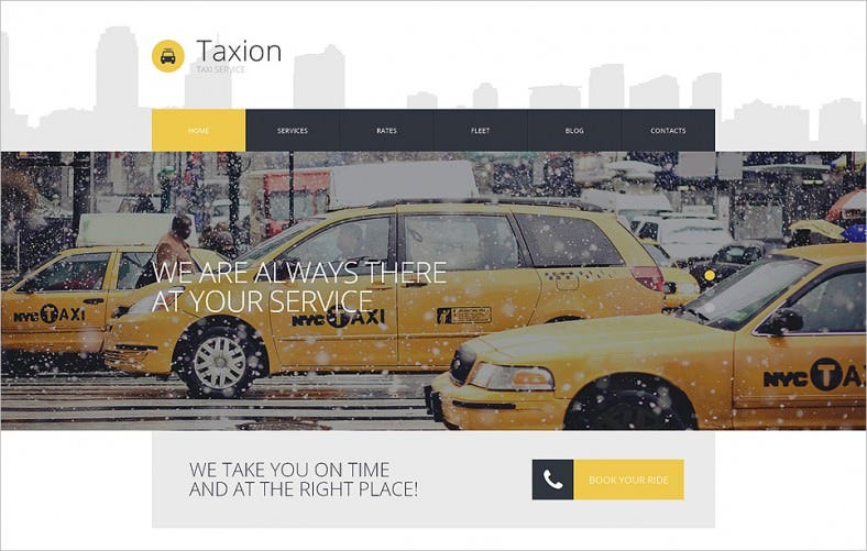 fast and furious cabs wordpress theme 788x501