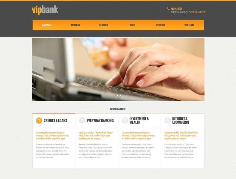 financial banking responsive wordpress theme 788x599