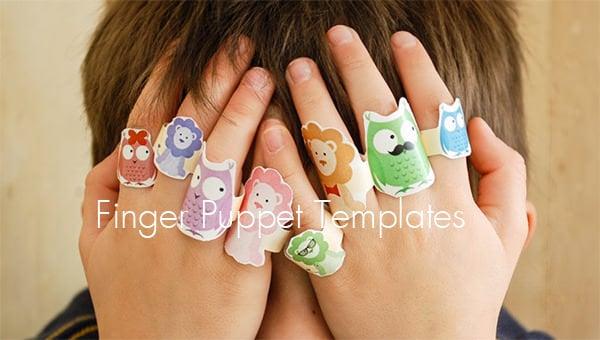 finger puppet templates
