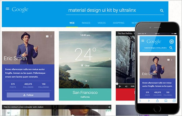 flat bootstrap ui kit coded with html5 and css3