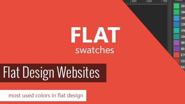 flat design website