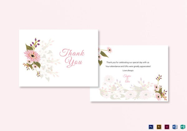 floral-wedding-thank-you-card-template
