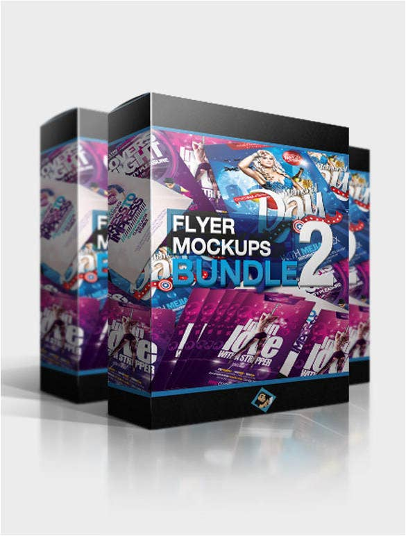flyer mockups bundle