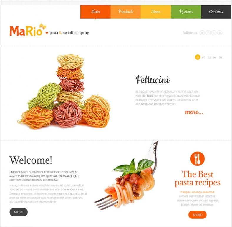 Food store joomla templates themes free premium free modern animated portfolio joomla template for food stores 49 forumfinder Images