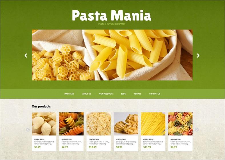 food store responsive joomla template 788x563