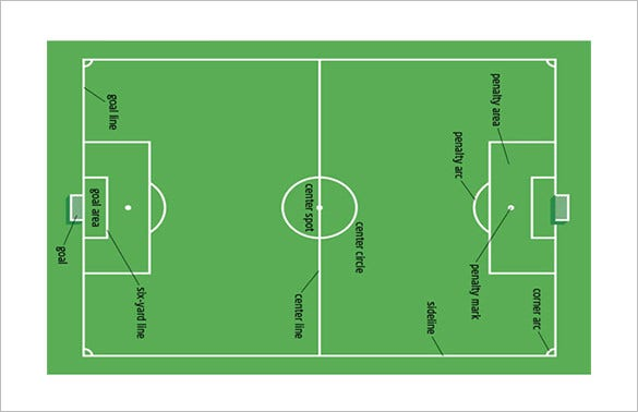 football powerpoint template free download