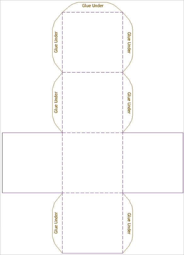 free book fold in half calendar template