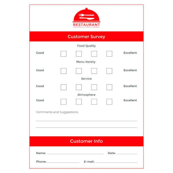 free-comment-card-template