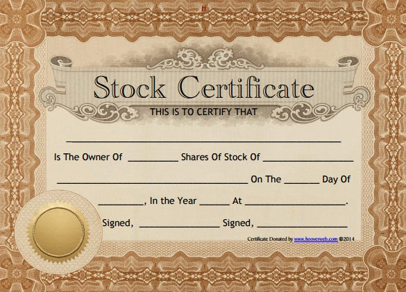 Share stock certificate template 21 free word pdf format free common stock certificate template download yelopaper Choice Image