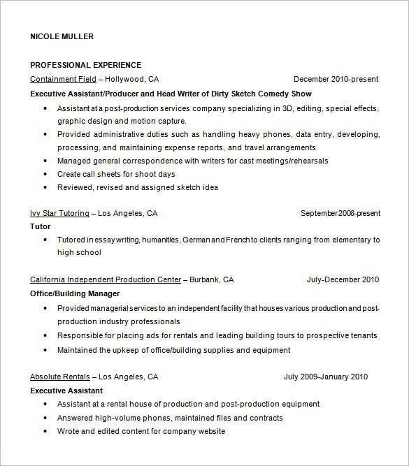 free download assistant fashion designer resume