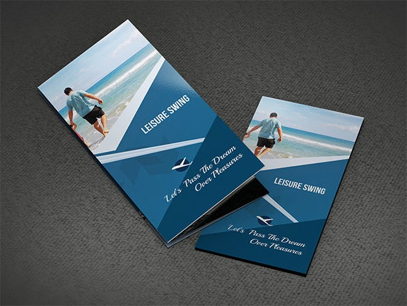 free download travelling tri fold brochure