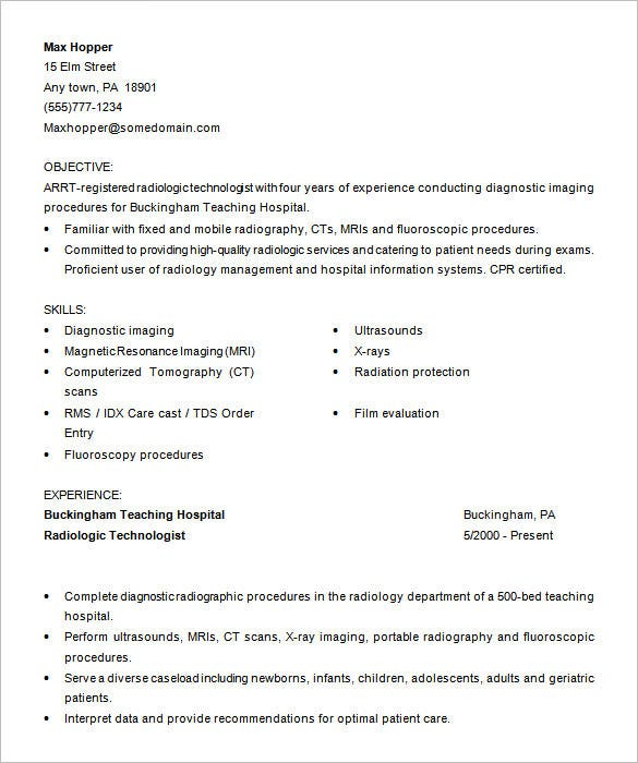 Medical Resume Free Medical Assistant Resume Word Format Download