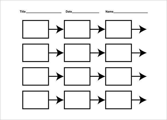 Crazy image pertaining to free printable timeline template