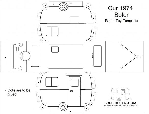 Free Printable Paper Car Template Model