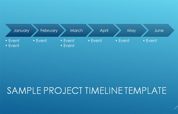 11 project timeline templates free premium templates for Ms powerpoint timeline template