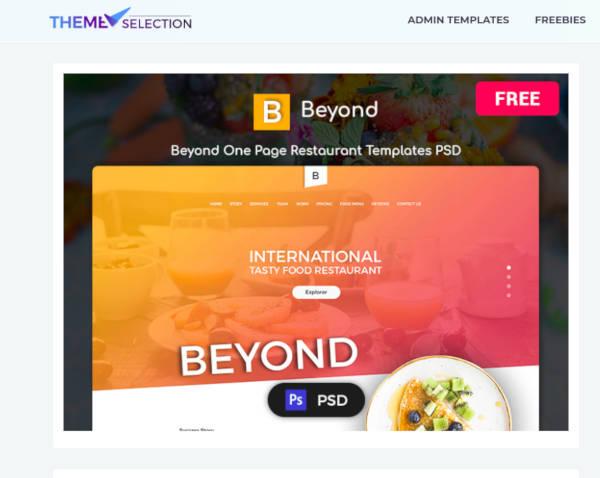 free-restaurant-psd-template