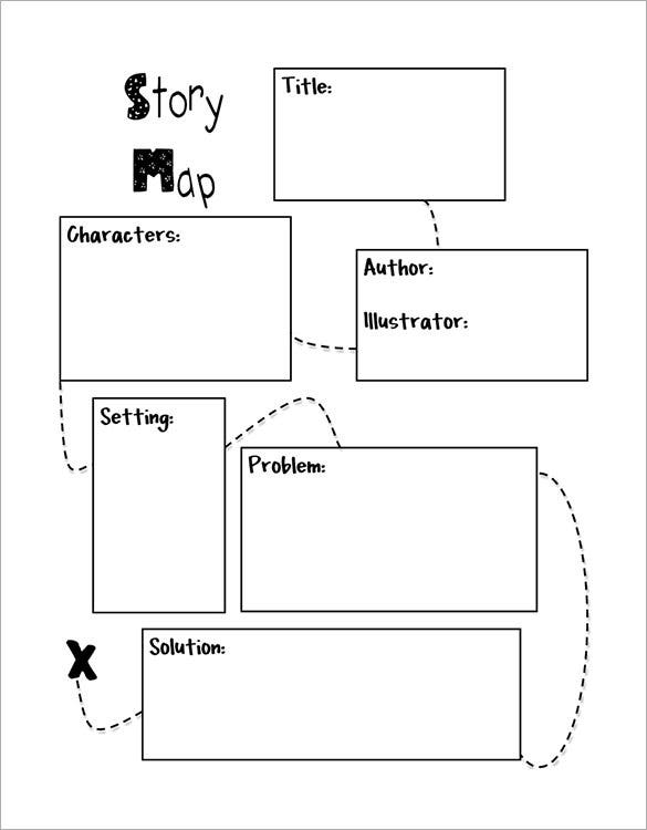 Story Map Templates  Free Word Pdf Format Download  Free