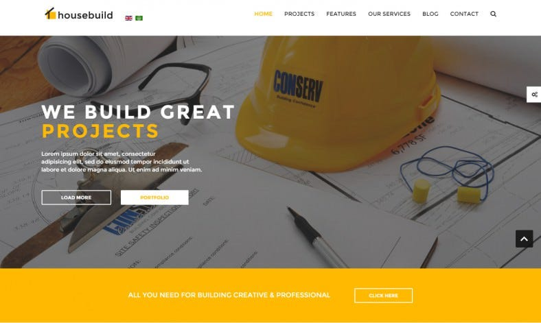 Full & Boxed Joomla Versions Construction Theme
