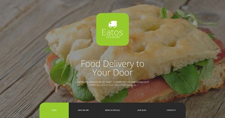 Fully Responsive Joomla Template for Food & Restaurant