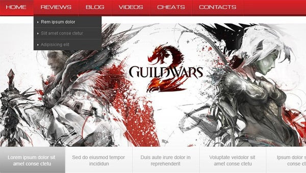 gamingportalwebsitetemplates