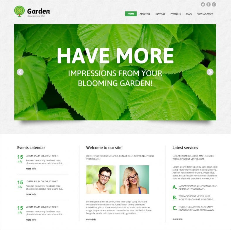 garden design responsive wordpress theme 788x786