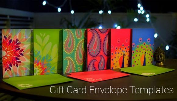 gift card envelope templates