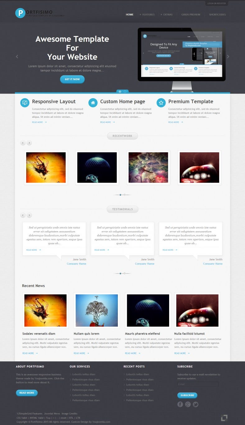 Graphic Designer Portfolio Template
