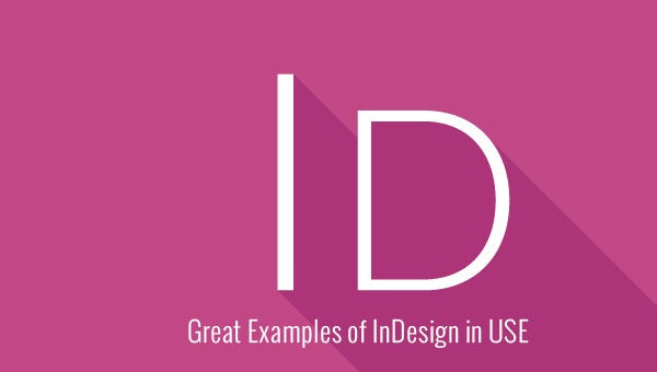 great examples of indesign usage