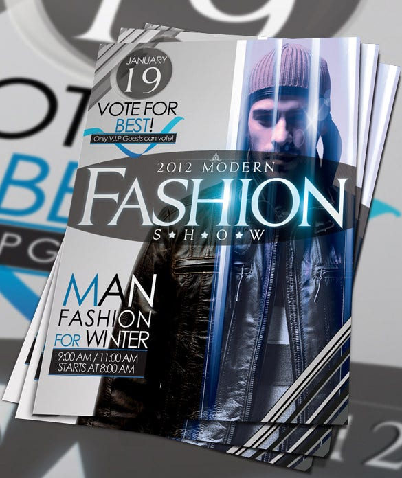 great fashion flyer template