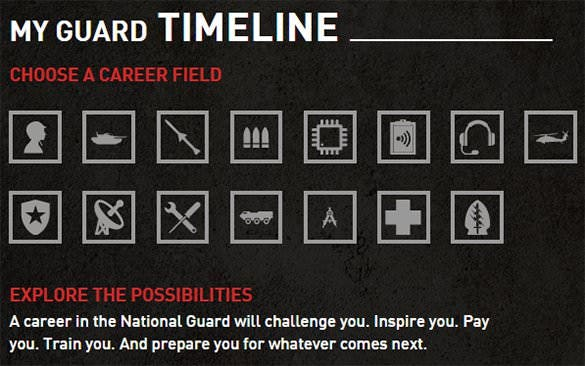 guard timeline template exercise download