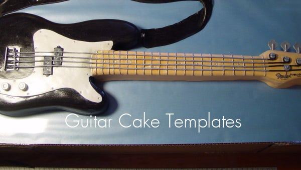 guitarcaketemplates