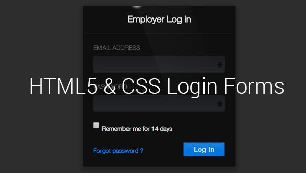html5cssloginforms