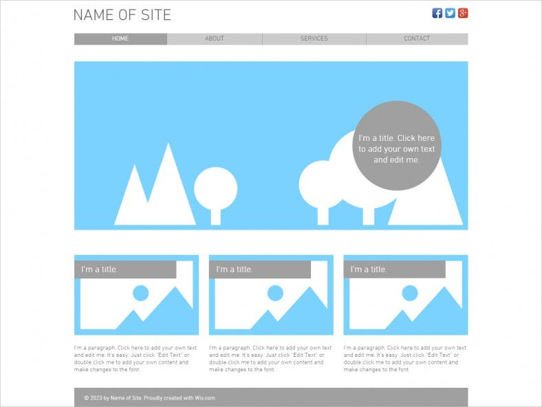 Html5 Clic Free Template