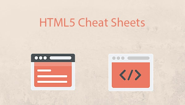 html5 cheat sheets