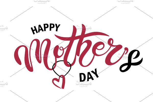 happy mothers day cards template