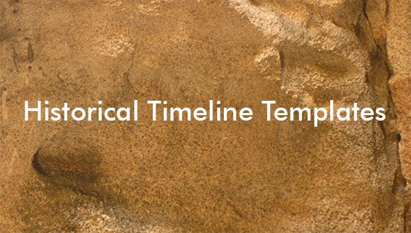 7  historical timeline templates