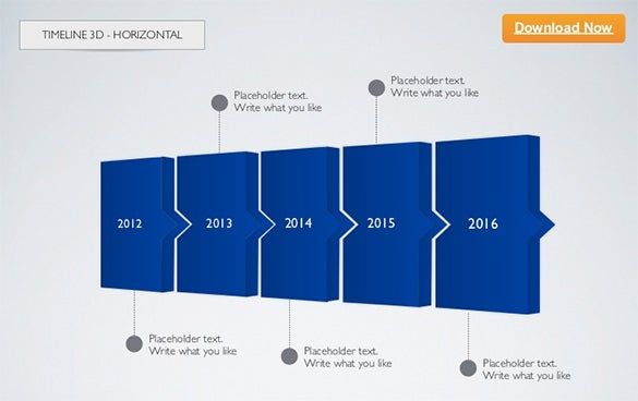 Timeline Template Free Word Excel PDF PPT PSD Format - Timeline free template