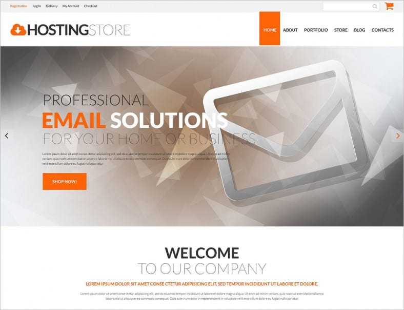hosting business woocommerce theme 788x604