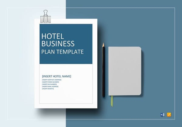 hotel business plan template6