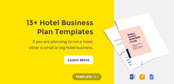 13 Hotel Business Plan Templates Pdf Google Docs Ms