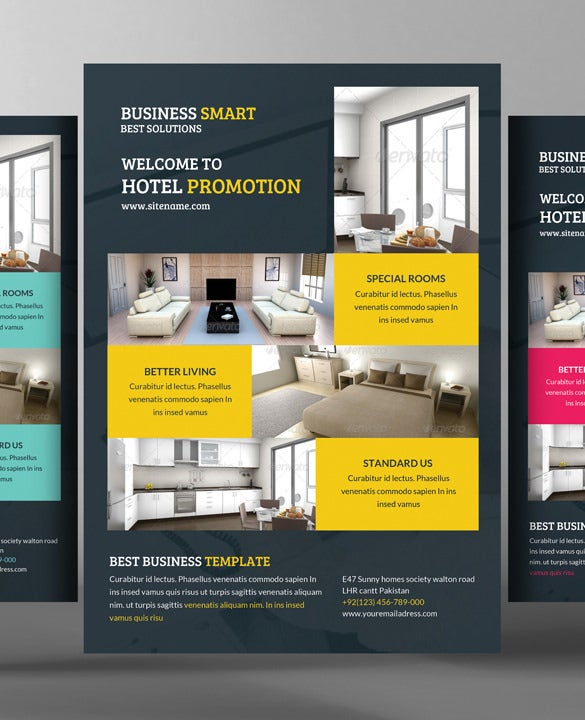28 modern psd advertising flyer templates word ai free