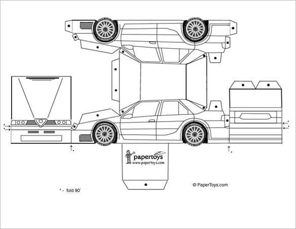 car design templates
