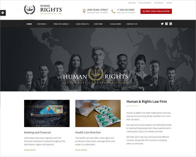 humanrights lawyer and attorney wordpress theme 788x632