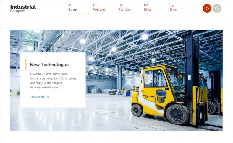 industrial multi purpose responsive wp theme 788x485